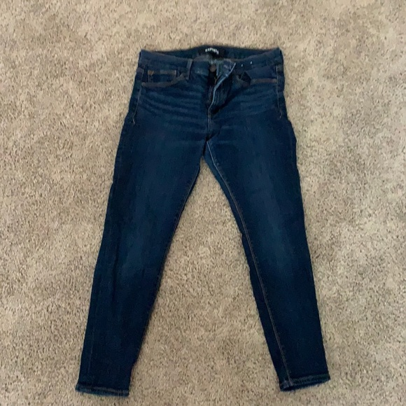 Express mid rise jeggings jeans